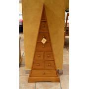 Pirámide cajonera 8 cajones