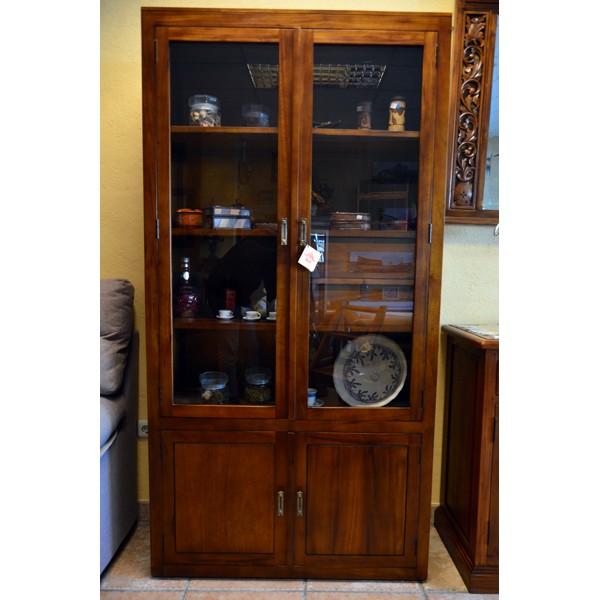 Vitrina 4 puertas 2 cajones sabaia compra online mueble for Muebles liquidacion total