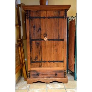 Armario ropero antiguo sabaia compra online mueble for Liquidacion muebles online