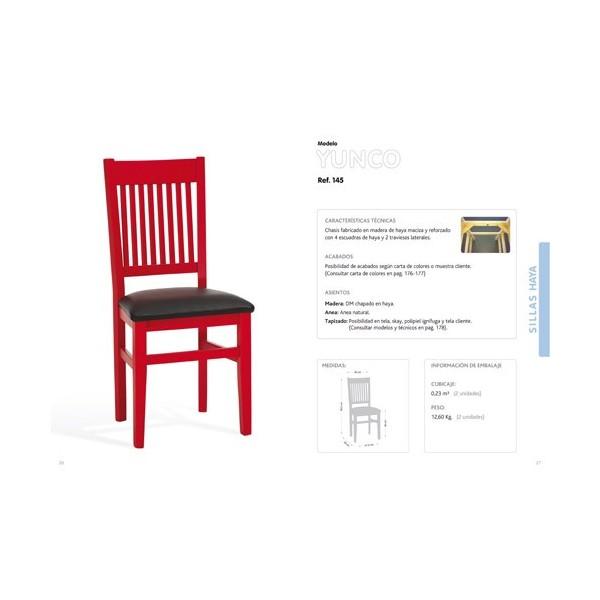 Silla yunco talaya ambrona s l compra online mueble for Liquidacion mesas sillas jardin