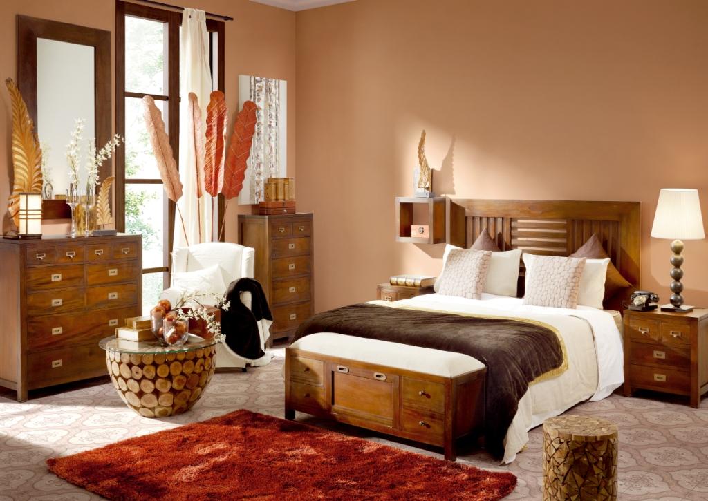 Compra dormitorios colonial inicio online en muebles sabaia for Dormitorios baratos online